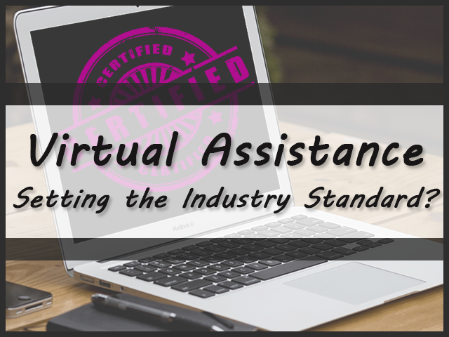 Virtual Assistance - Setting the Industry Standard?