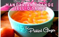 Grandma Bette's Creamy Mandarian Orange Jell-O Salad